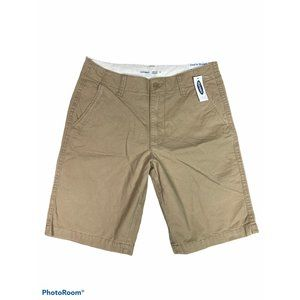 Old Navy Lived in Straight Tan Shorts 28